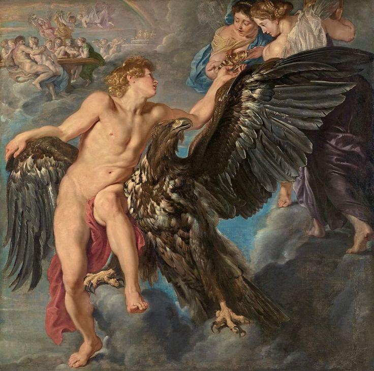 Pieter Paul Rubens, Ganimede e l'aquila (1611-1612, olio su tela)