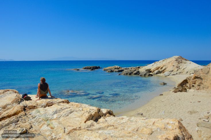 Aliko beach, Naxos #naxos #greece