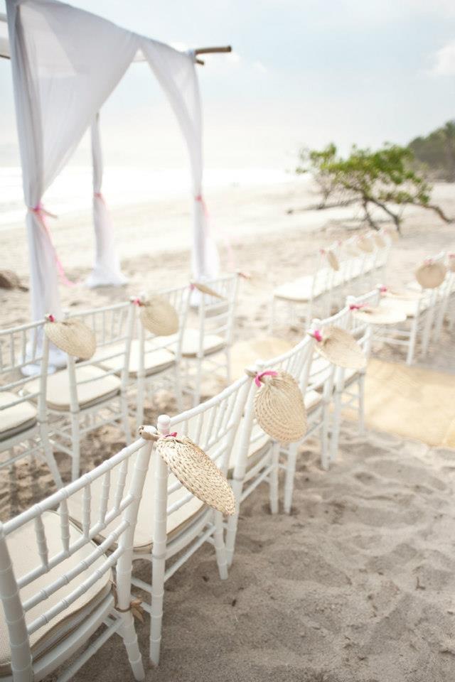 Beach Wedding Ceremony Decorations : Beach wedding ceremony chiavari chairs