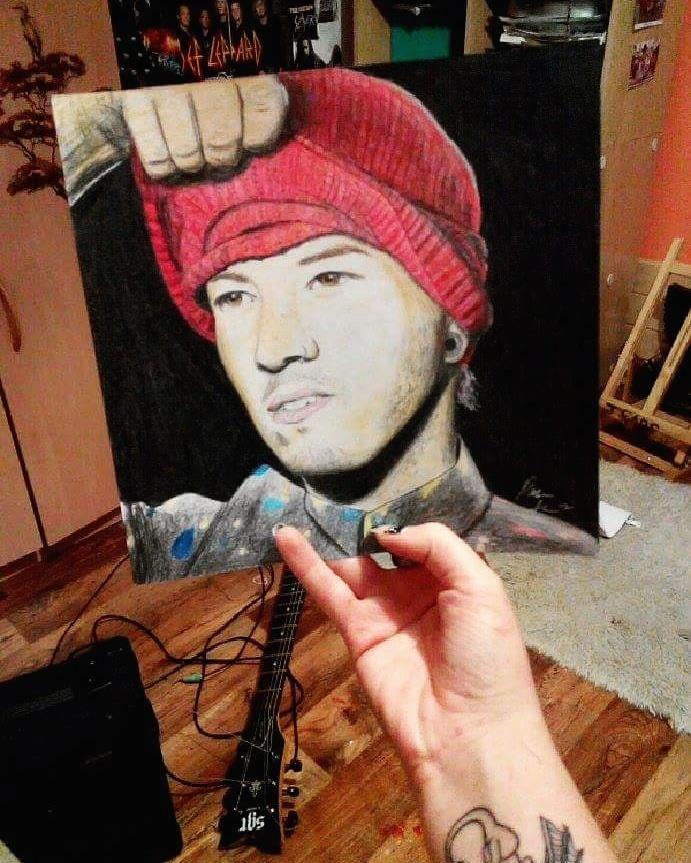 Joshua Dun Twenty One Pilots, TOP, singer, Josh Dun, fanart, pop, rock pop