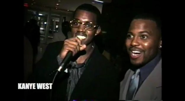Kanye West Looked Like A Total Dweeb In 1998
