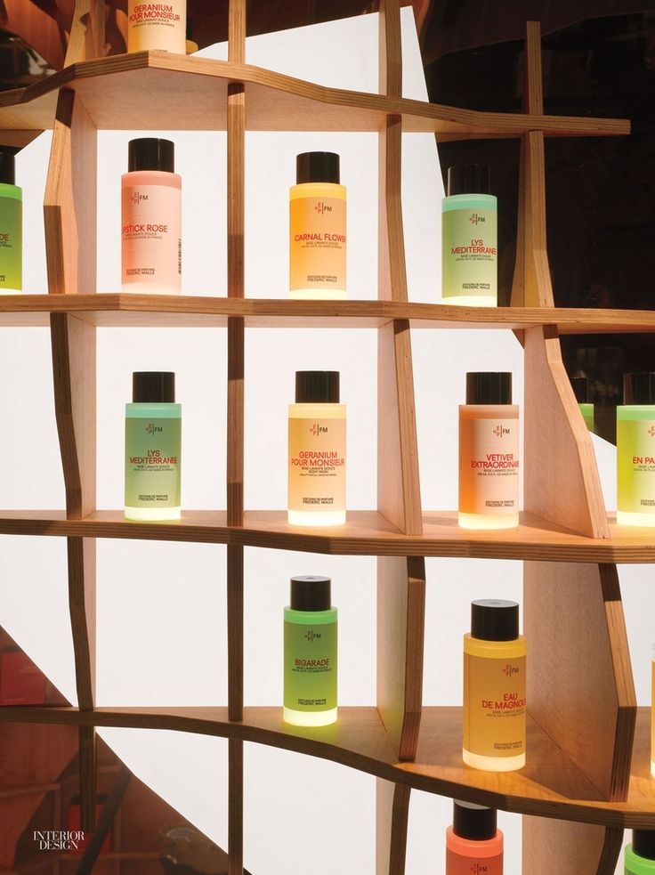 Jakob + MacFarlane Experiment in Paris Perfume Boutique
