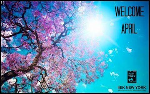 O Απρίλιος έφτασε!  Καλό μήνα και προσοχή στις φάρσες σήμερα..  Καλημέρα!  #iny #ieknewyork #kalimera #AprilFools