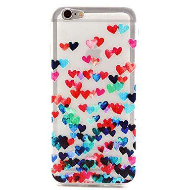 Colorida/Design Especial/Transparente/Outros/Inovadora/Doce - iPhone 6 - Capa traseira ( Vermelho/Colorido , PUT ) – BRL R$ 10,23
