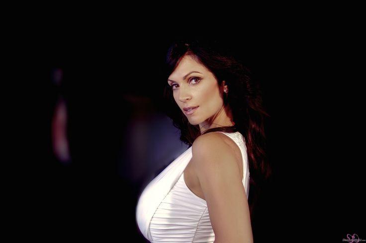 Denise Milani White Dress Summer #summer