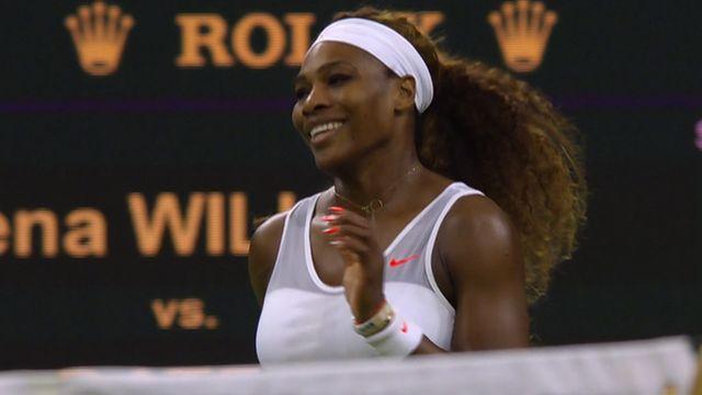 Serena Williams thrashes Kimiko Date-Krumm