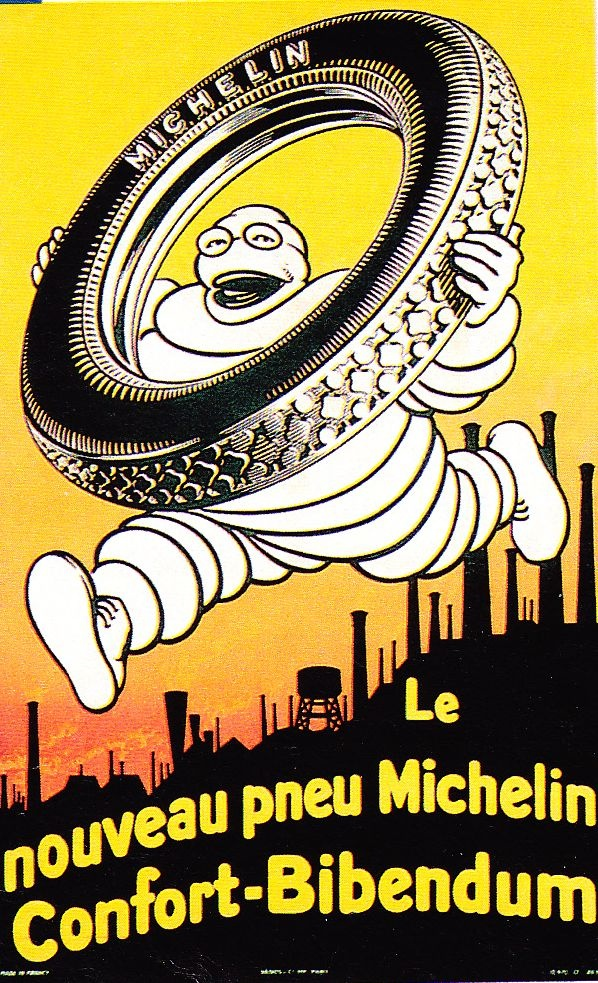 39 best images about michelin on pinterest for Old tire art
