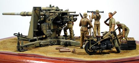 """1/35 German 88mm Flak 36 """"North African Campaign"""""""