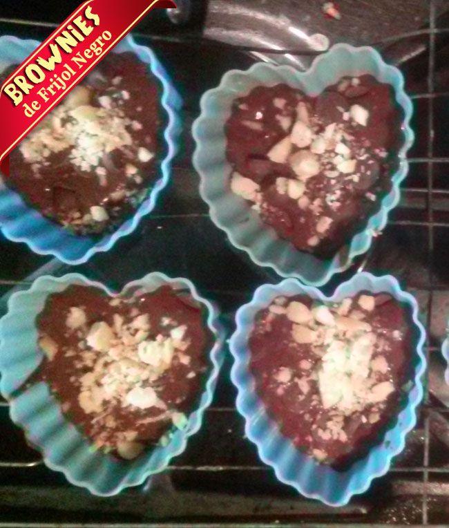Brownies De Frijol Negro | Receta De Brownies Sin Harina