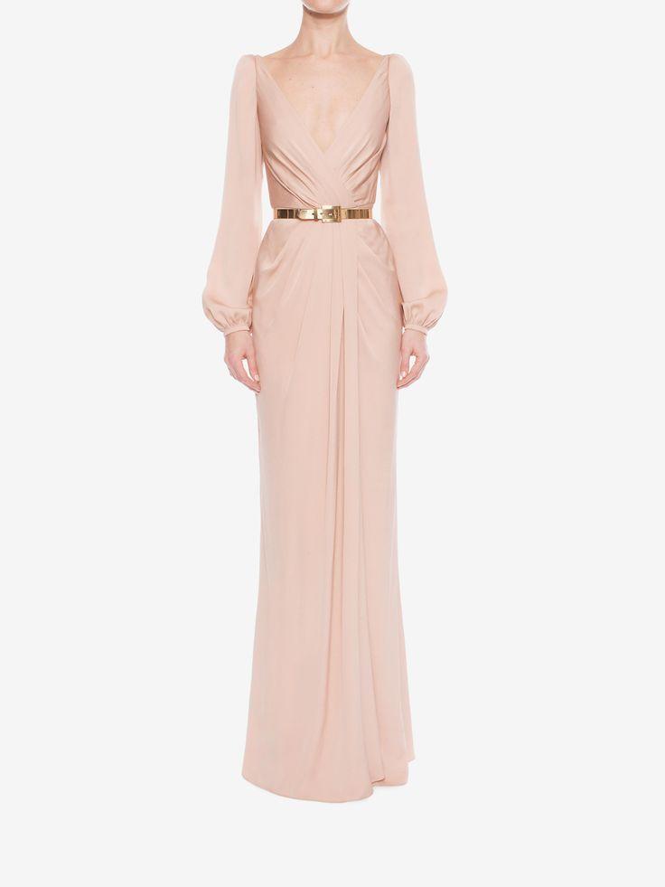 Alexander McQueen - Long Wrap Dress