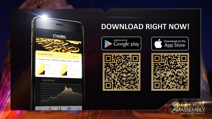 Official Global InterGold mobile app available in App Store and Play Market!