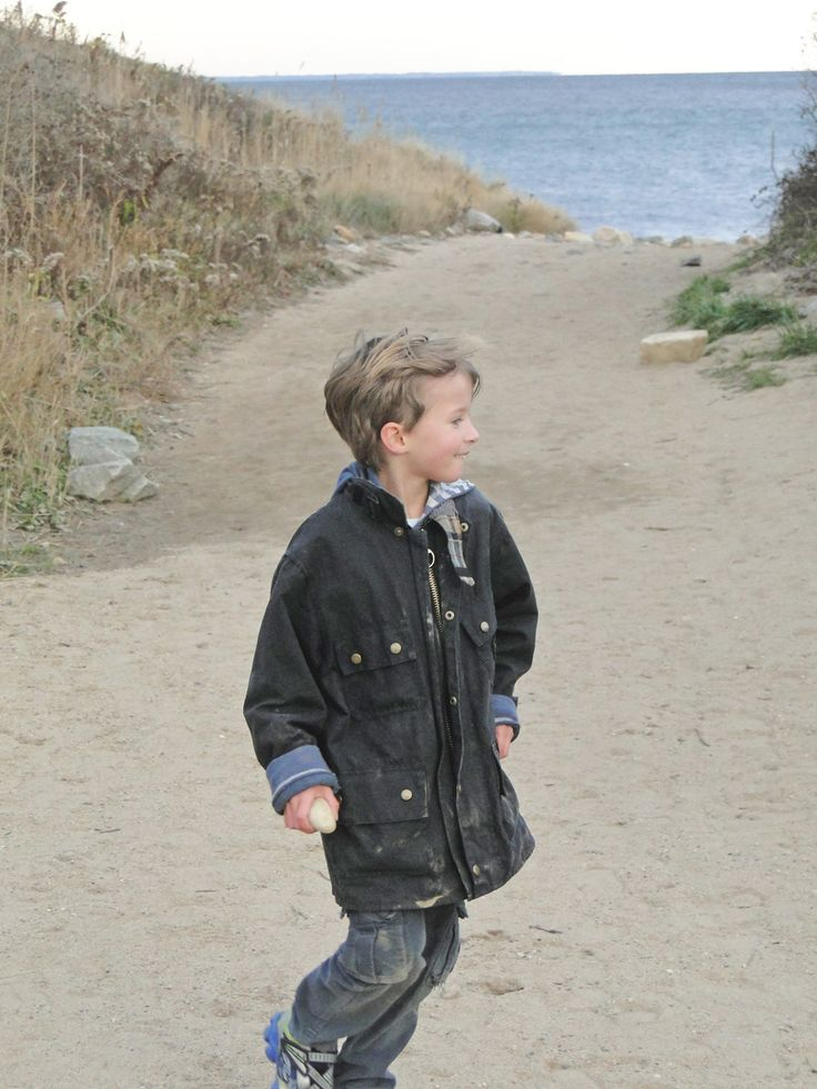 #Barbour jacket for kids - cool in the city and practical in the country