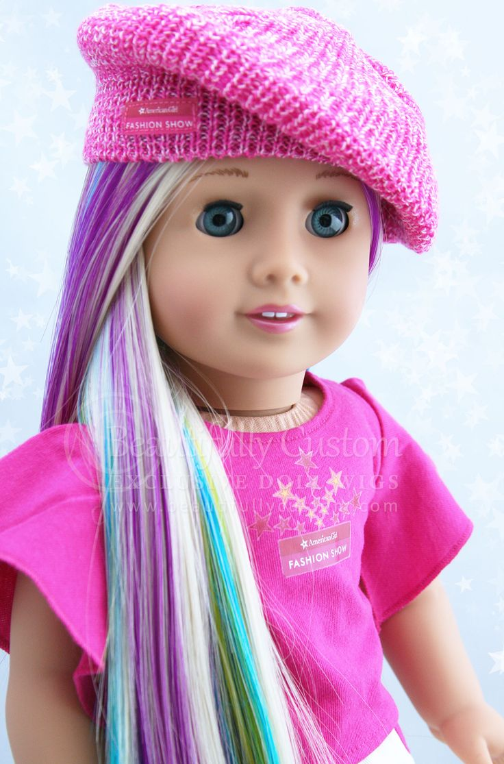 Quot Starry Sprinkles Quot Elegance Doll Wig For American Girl