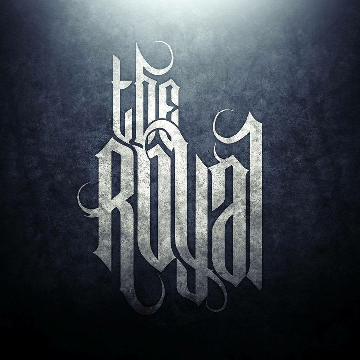 The Royal Metalcore Stage Banner