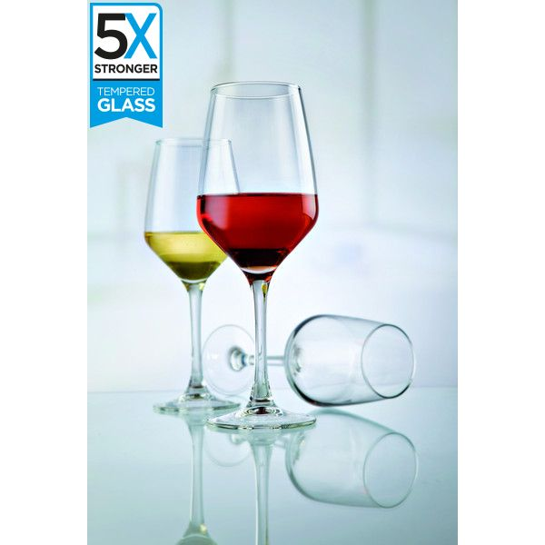 Hostelvia Mencia Tempered Wine Glasses (Set of 6)