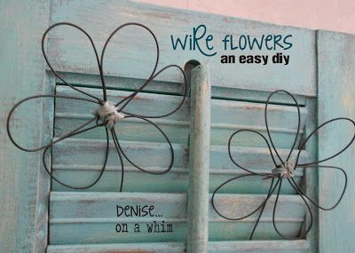Make Your Own Wire Flowers