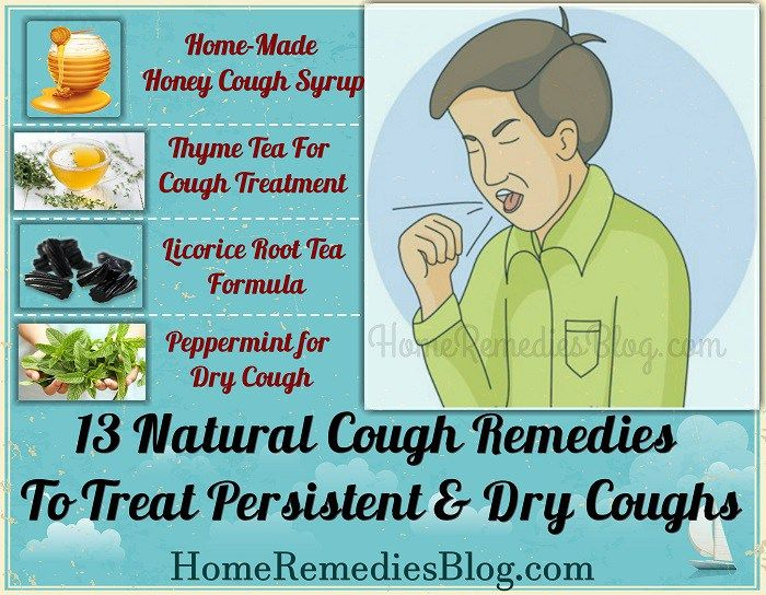 Natural Cough Remedies To Treat Persistent & Dry Coughs