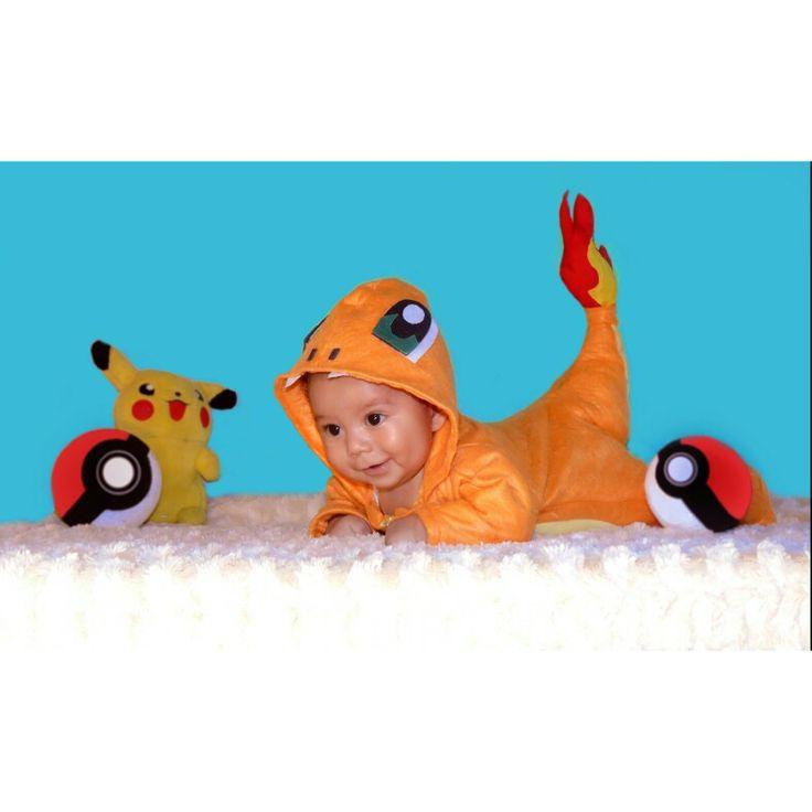#bebe #costume #disfraz #pokemon #charmander