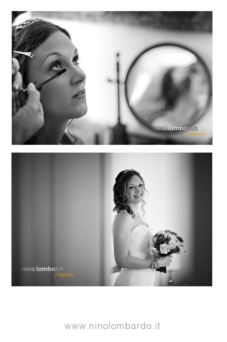 A radiant bride! The moment of wedding ceremony is approaching.  view gallery: © www.ninolombardo.it
