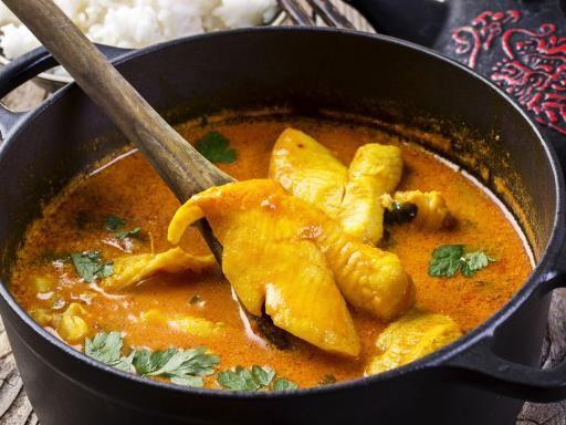 Poisson au curry Express ★★★★★★★★★★★★★★★  Essayez cette recette, lors de votre séjour dans les résidences Cerise, ou les studios sont équipés de kitchenettes. Listes des Résidences Hôtelières CERISE: www.cerise-hotels-residences.com