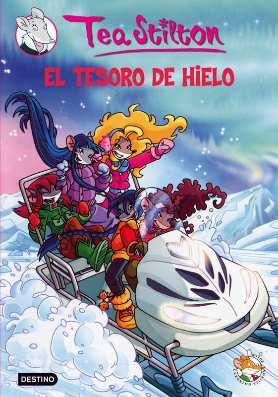 """""""El tesoro de hielo"""" de Tea Stilton es uno de los libros más prestados de la sala infantil."""