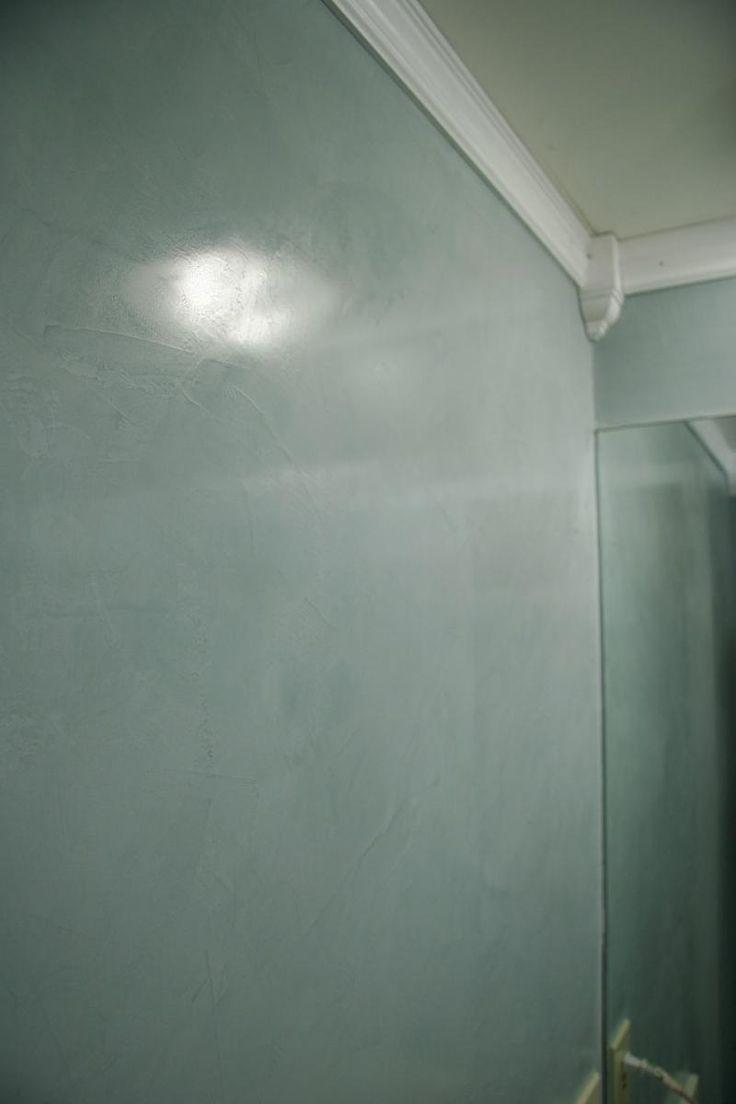 Venetian plaster ~ My bedroom wall color in the venetian~