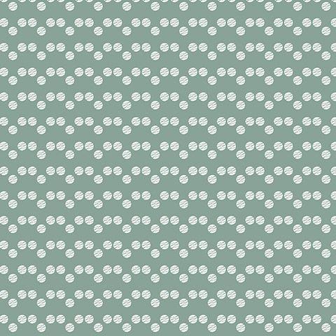 Scandinavische mini stip groen uit de collectie #behang: Eline Rousseau for…
