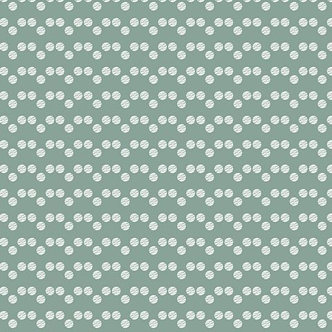Scandinavische mini stip groen uit de collectie #behang: Eline ...