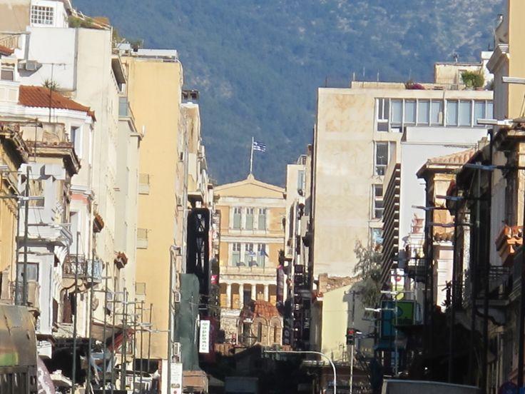 Athens Hermes street
