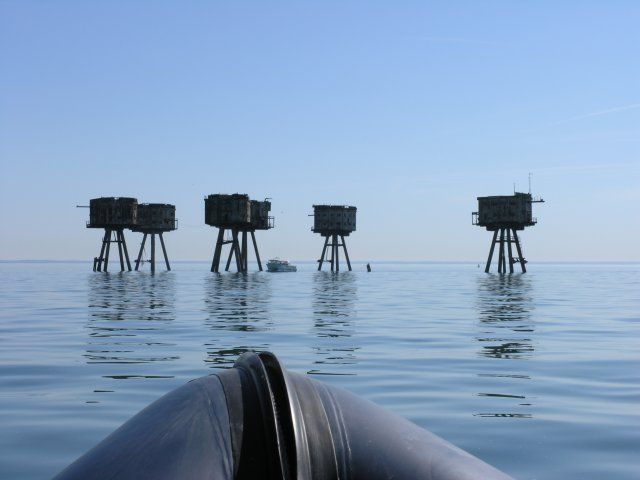 Thames Maunsell Forts::Shivering Sands Fort
