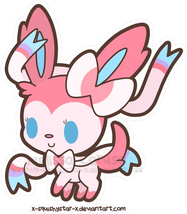 Squishy Pokemon Evolution : Squishy Ninfia / Sylveon by =x-SquishyStar-x on deviantART Pokemon Pinterest Art and ...