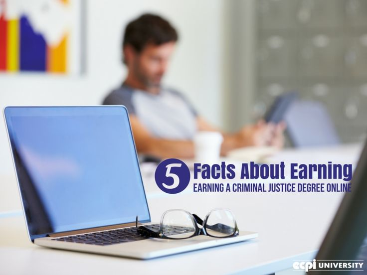 5 Facts About Earning A Criminal Justice Degree Online #Crime # CriminalJustice #OnlineDegree #