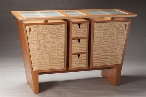 Contemporary Sideboard & Server from Gregg Lipton