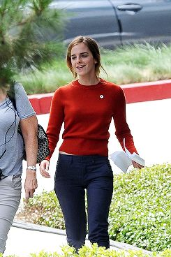 Emma Watson on the set of 'The Circle' in Los Angeles, CA on September 11th, 2015