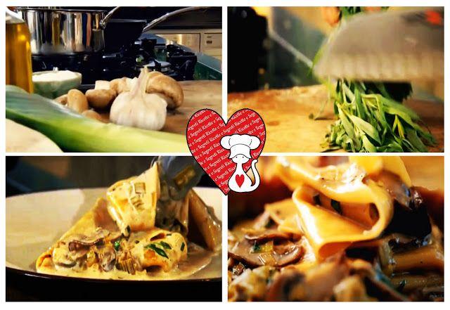Ricette e Segreti in Cucina : Ricetta veloce Pasta funghi e porri