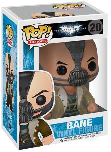 Funko POP Heroes: Dark Knight Rises Movie Bane Vinyl Figure http://popvinyl.net #funko #funkopop #popvinyls