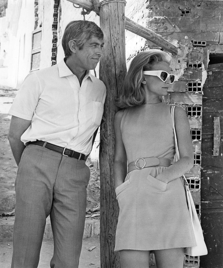 American Casual. James Coburn, with Lee Remick, 1969.