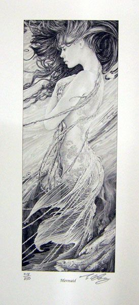 Ed Org - Mermaid (I have this hanging in my house, and absolutely love it still.