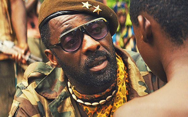 Best Supporting Male Nominee Idris Elba shares with EW how he almost died while shooting 'Beasts of No Nations.'