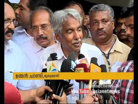 CM Oommen Chandy responds on Kerala Congress(M) Splits - YouTube