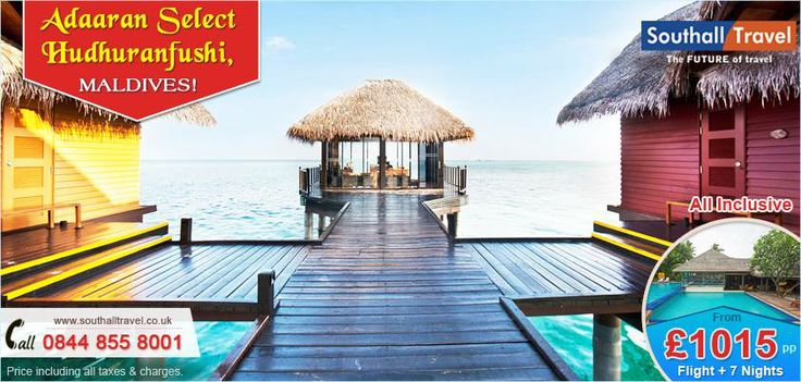Enjoy a simply spectacular #holiday at #Maldives with #Adaaran Select #Hudhuranfushi. Exclusive deals available on all #holidays. Call us now! http://www.southalltravel.co.uk/holidays/indian-ocean/Maldives/adaaran.aspx