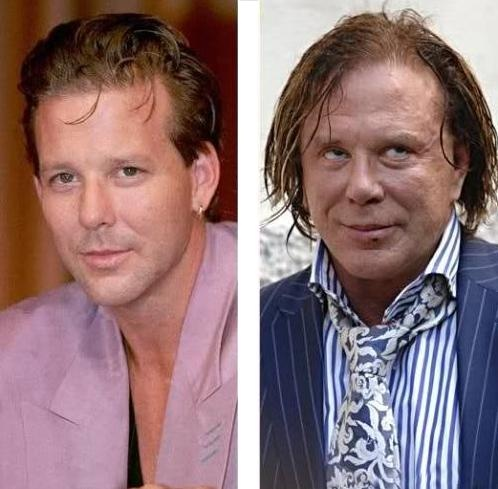 Mickey Rourke. I was the drugs.
