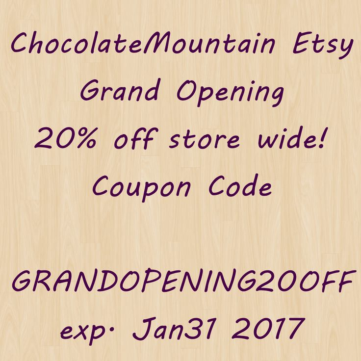 Browse unique items from ChocolateMountain on Etsy, a global marketplace of handmade, vintage and creative goods.