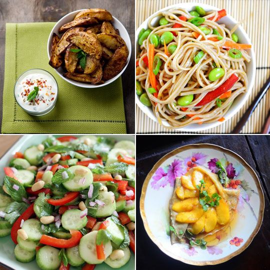 Ginger Scallion Soba & Minty Cucumber Salad — Delicious links for 09 ...