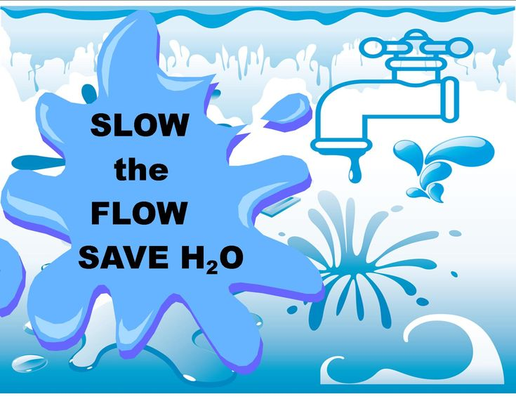 Slow the Flow...Save the H2O http://www.environmentcare.in