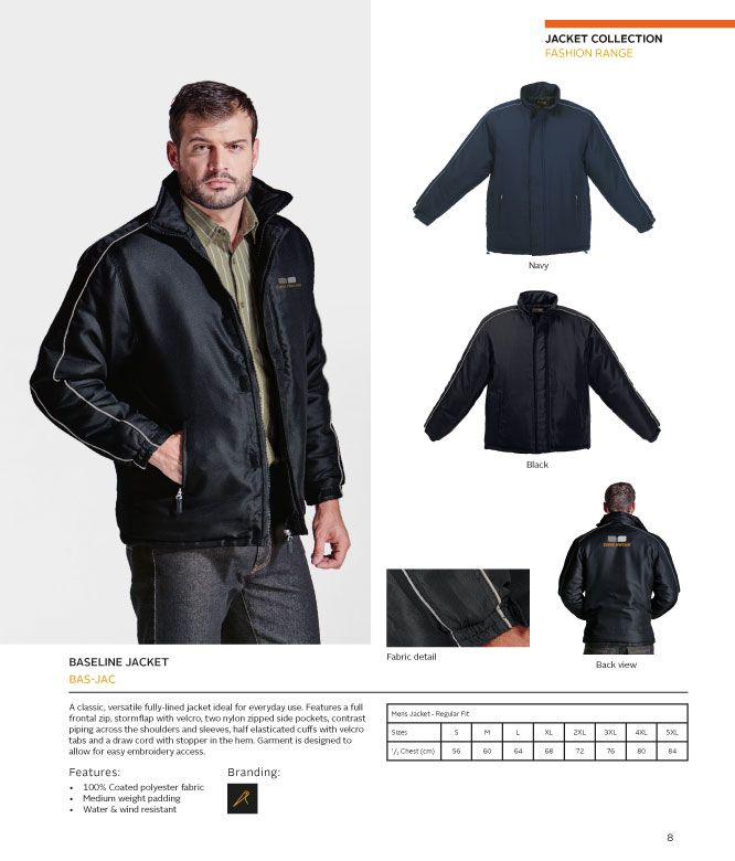 Baseline Jacket | belleregaloshop