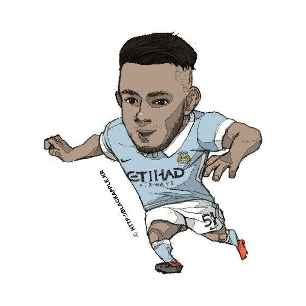 Manchester City No.51 David Faupala Fan Art