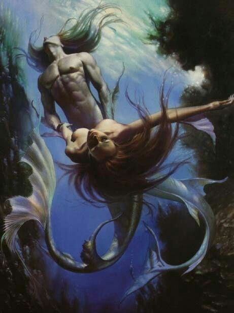 Mermaids by Boris Vallejo