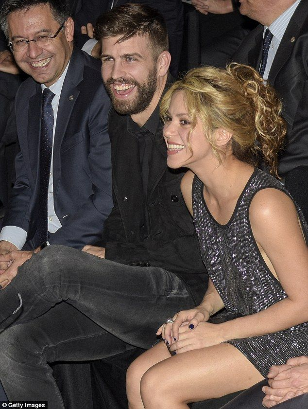Loved-up!Shakira, 38, looked effortlessly chic as she attended the Festa De Esport Catala awards in Barcelona on Sunday as she snuggled up to husband Gerard Piqué, 28