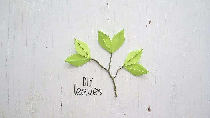 How to make Paper Leaves